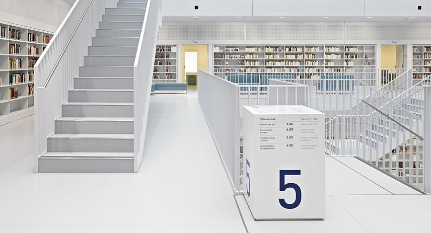 Stuttgart City Library | Totems Communication & Architecture