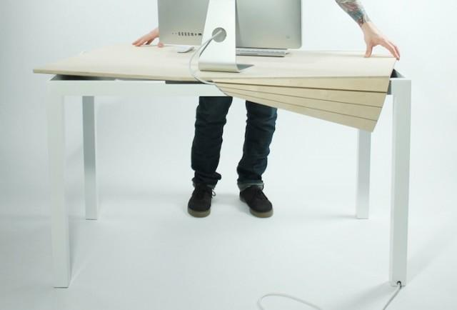 Tambour Table – Fubiz™