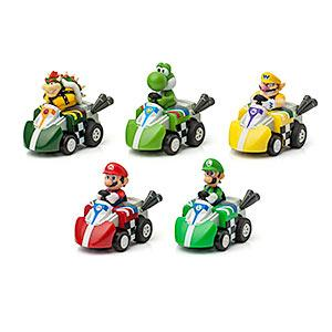 ThinkGeek :: Mario Kart Racers Pull Back