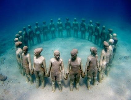 Jason de Caires Taylor - London, UK Artist - Featured - Sculptors - Artistaday.com