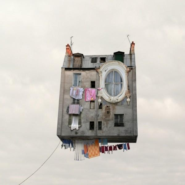 Flying Houses by Laurent Chehere | Trendland: Fashion Blog & Trend Magazine