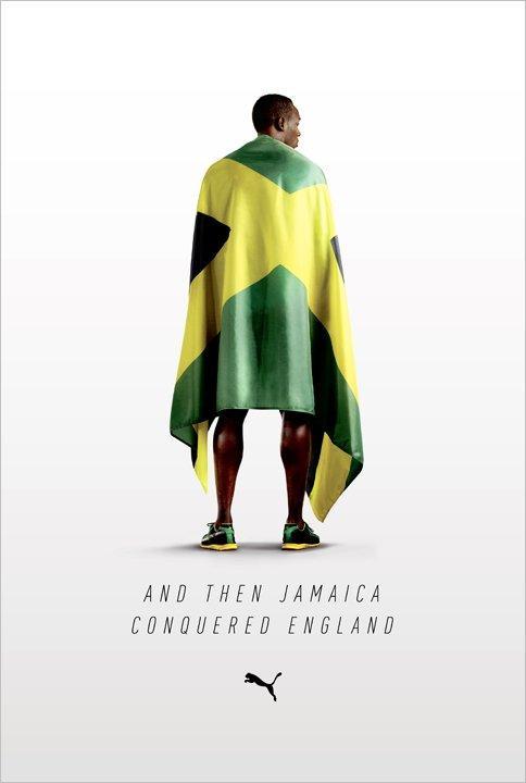 Dalai Karma | thaeger: Puma: Bolt Conquered England.