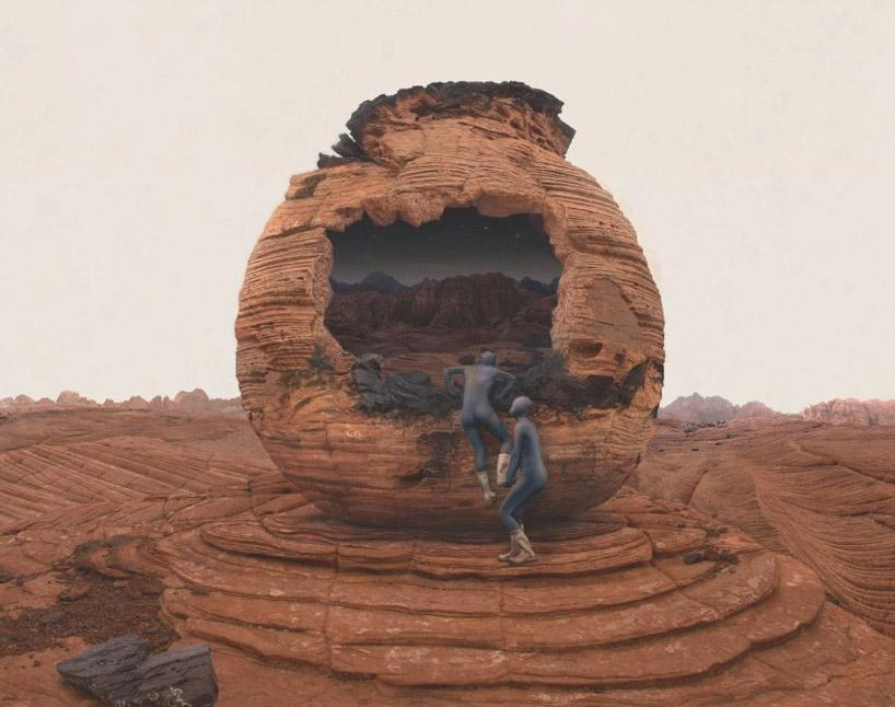 NASA commissions surreal mars photographs by kahnselesnick