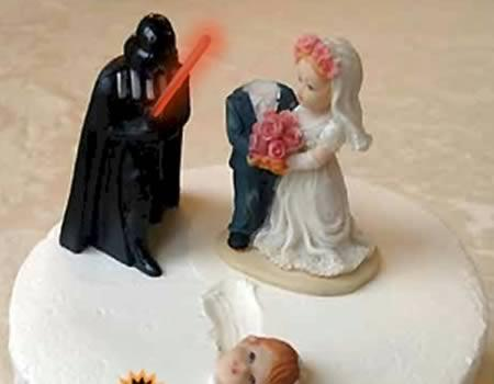 12 Totally Bizarre Cake Toppers - Oddee.com