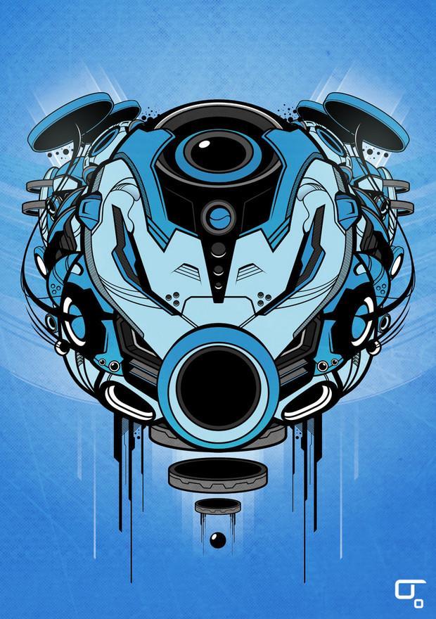 Sacred Helmet MKIV by subjektzero | Shadowness