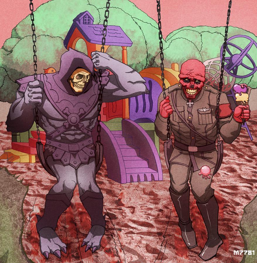 25 Sci-fi & Fantasy Art Mashups - Imgur