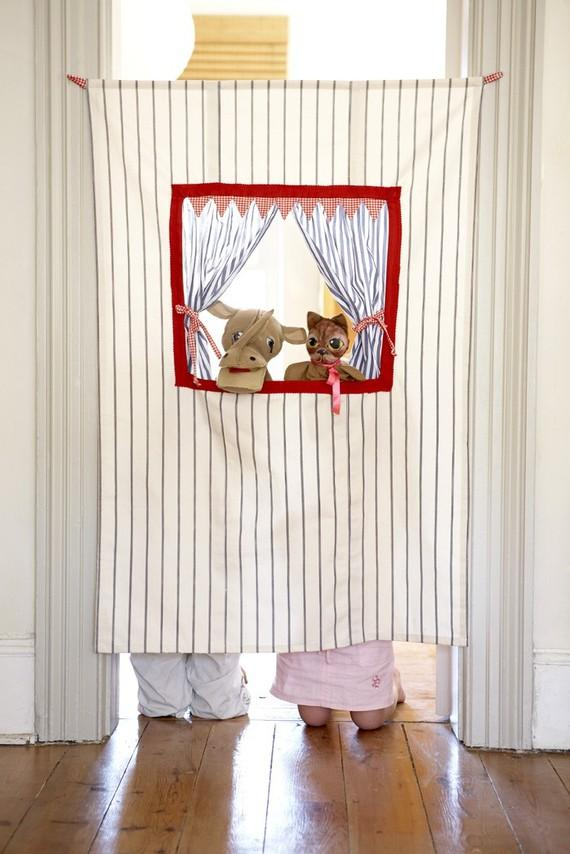 Doorway Puppet Theatre by CoolSpacesForKids on Etsy