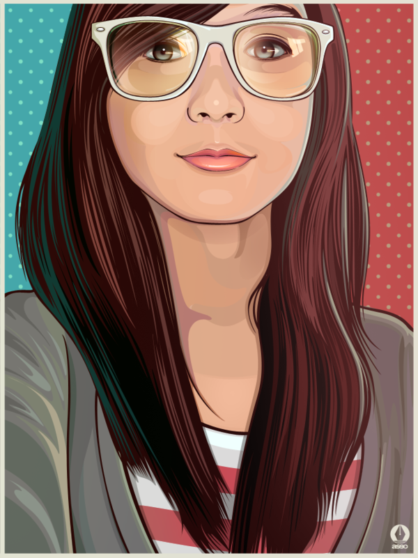 Beautiful Vector Art by Rhafael Aseo | Daily Inspiration
