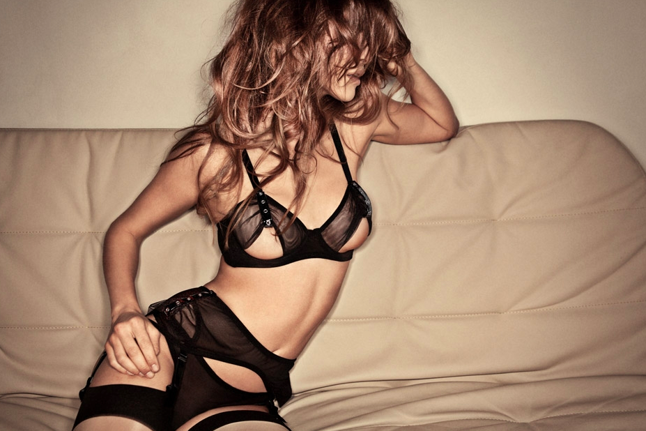 Lascivious Lingerie A/W 12 look book | Perfectlounge