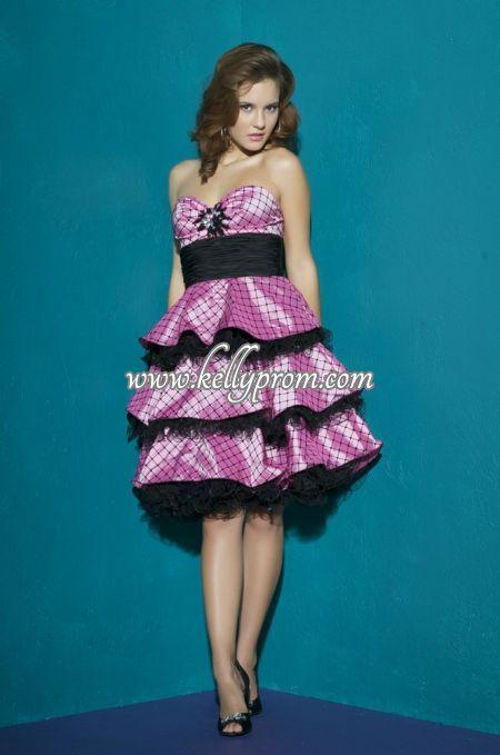 Discount Babydoll Prom Dresses - Style 75689B - $257.84