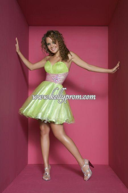 Discount Babydoll Prom Dresses - Style 75690B - $228.64