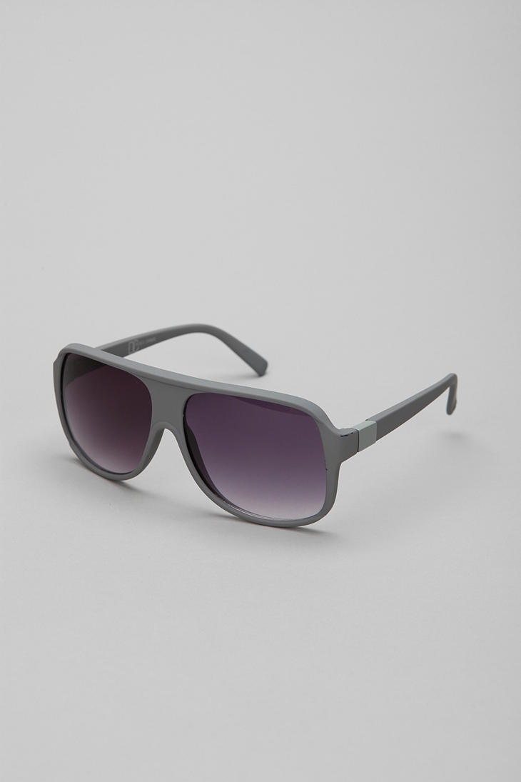 UrbanOutfitters.com > Graham Soft Touch Aviator Sunglasses