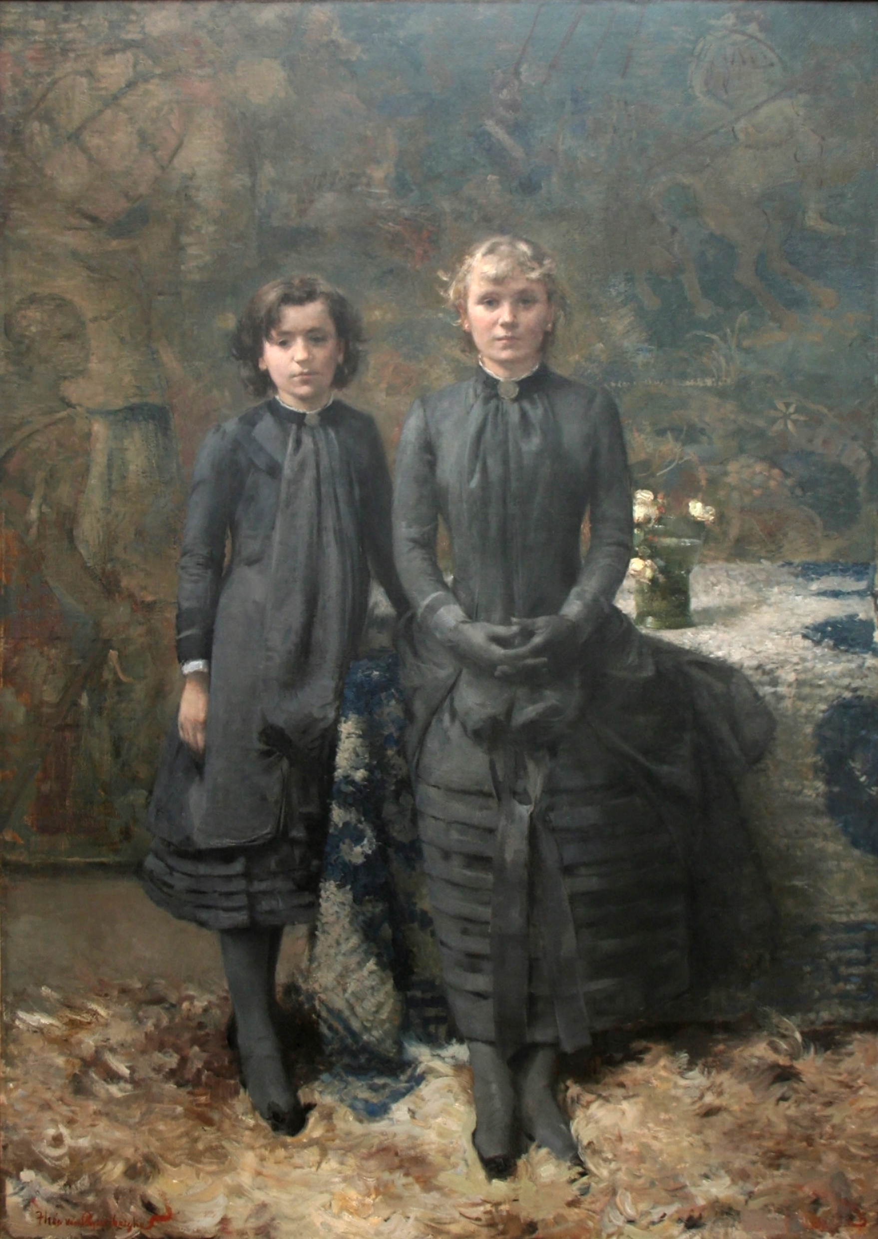 Théo_van_Rysselberghe_-_Les_Soeurs_du_peintre_Schlobach.JPG (1758×2479)