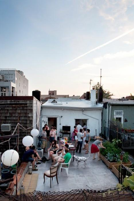 Spaces / Rooftop party
