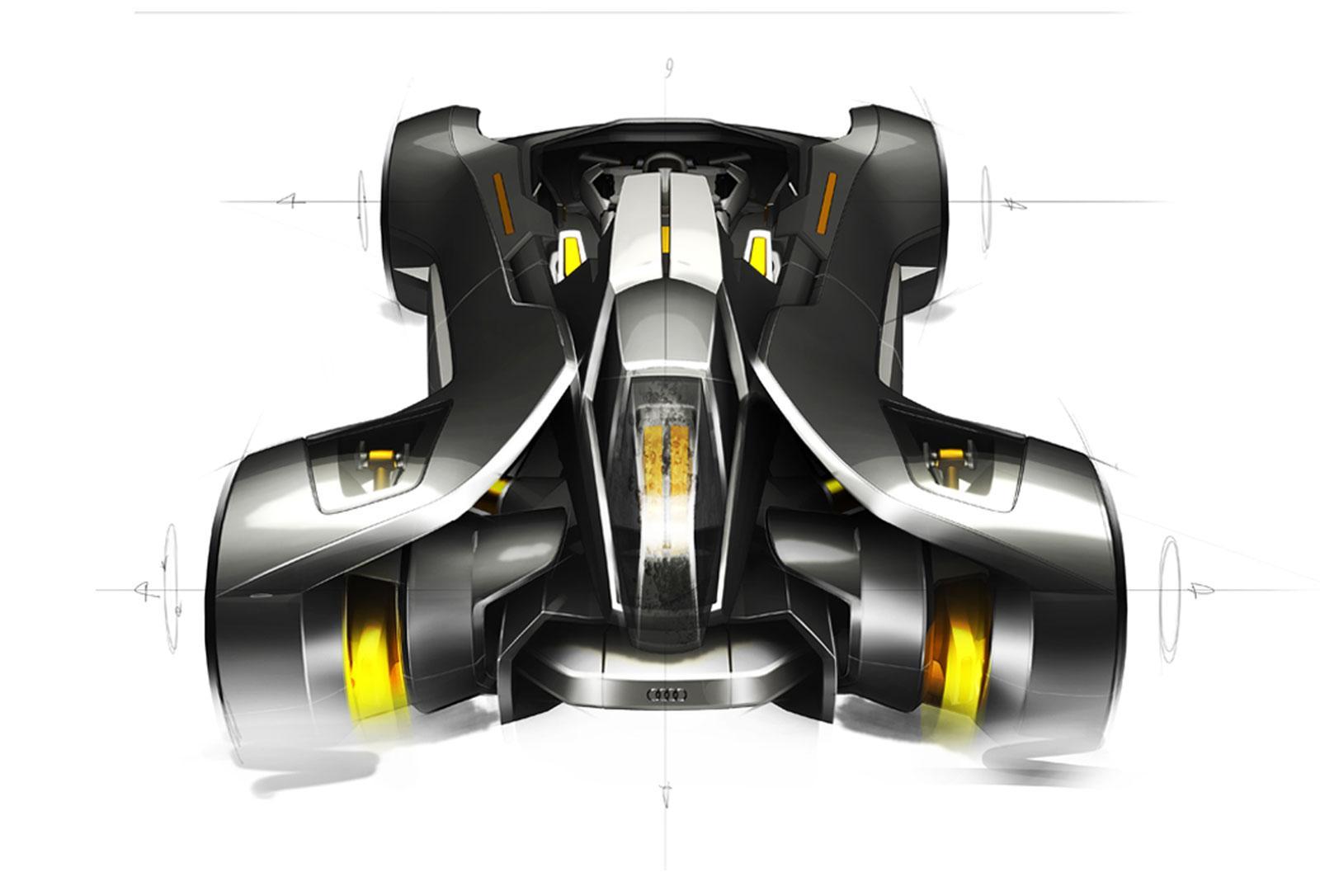 Audi Elite Concept - Car Body Design