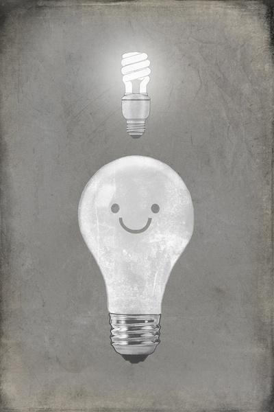 Bright Idea Art Print by Terry Fan | Society6