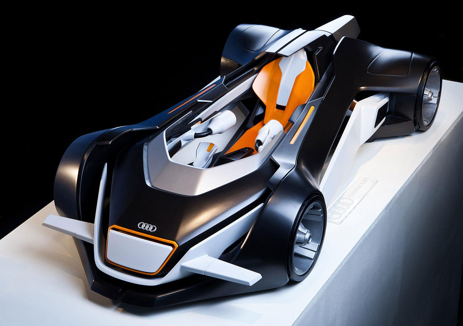 Audi Elite Concept Scale Model - Car Body Design