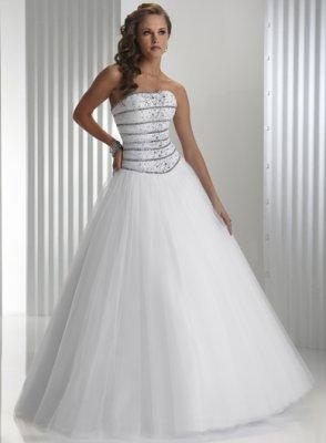 Ball Gown P1424 [158] - $294.30 : Discounted Designer Wedding Dresses and Prom Dresses at www.venusbridalshop.com