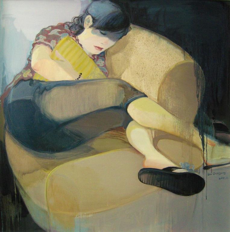 Saatchi Online Artist: Chenyang Liu; Oil, 2009, Painting