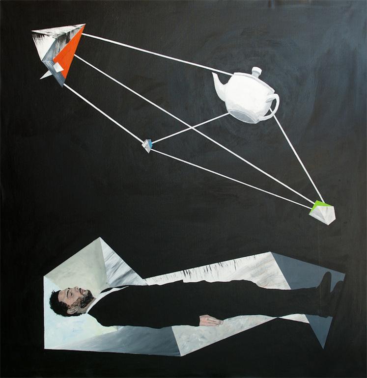 Saatchi Online Artist: jaime rozen; Acrylic, 2012, Painting