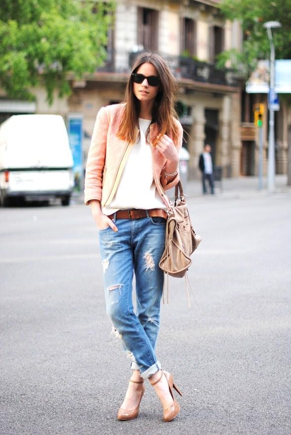 2. With Stiletto Heels