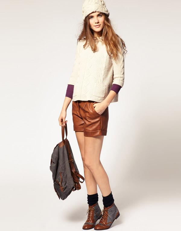 6. A Wear PU Shorts