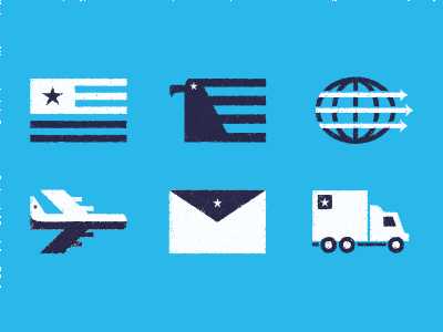 Shipping Icons by Urena, Ray