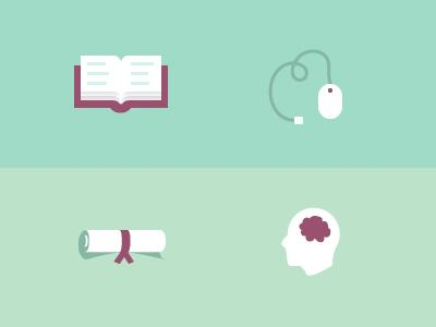 Education Icons by Alex Penny