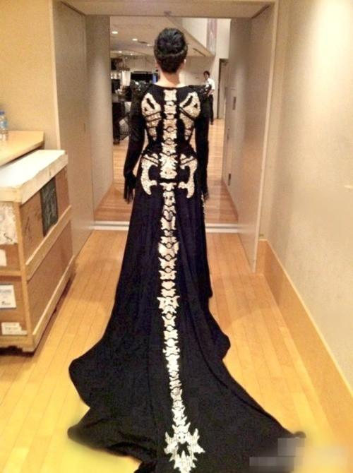 My Dark Side / spine dress