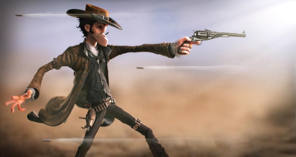 3D Art: I shot the sheriff - 3D, Concept art
