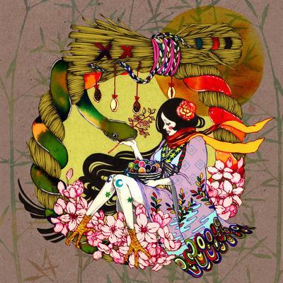 Kaguyahime Art Print by Natsuki Otani | Society6