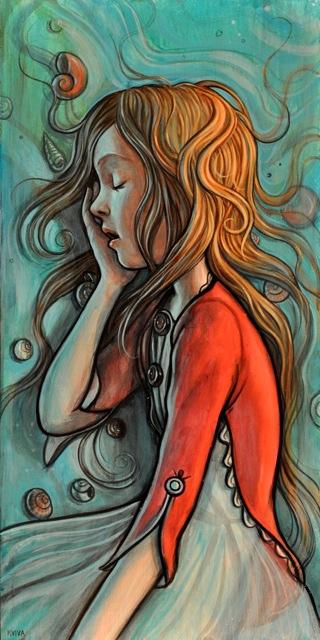 Gorgeous Illustrations by Kelly Vivanco   Abduzeedo   Graphic Design Inspiration and Photoshop Tutorials