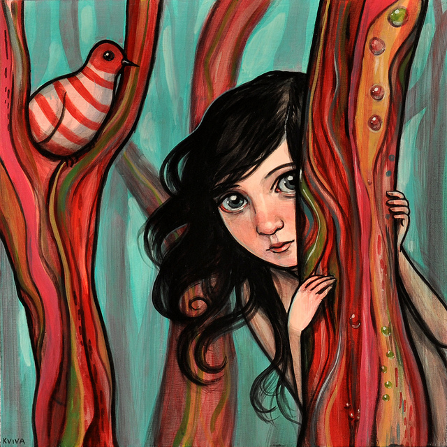 Gorgeous Illustrations by Kelly Vivanco | Abduzeedo | Graphic Design Inspiration and Photoshop Tutorials