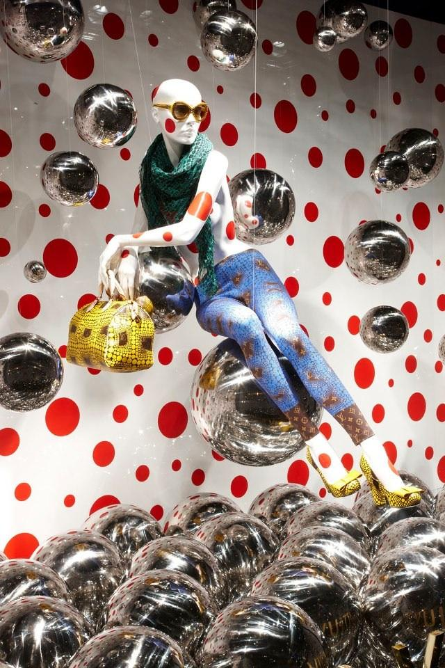 Louis Vuitton Yayoi Kusama Stores Pop Up Around the World - My Modern Metropolis