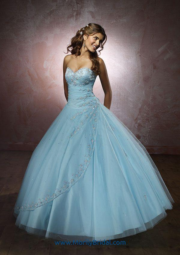 Mori Lee 86023 Satin and Tulle Quinceanera/Vizcaya Cheap in Morilybridal.com