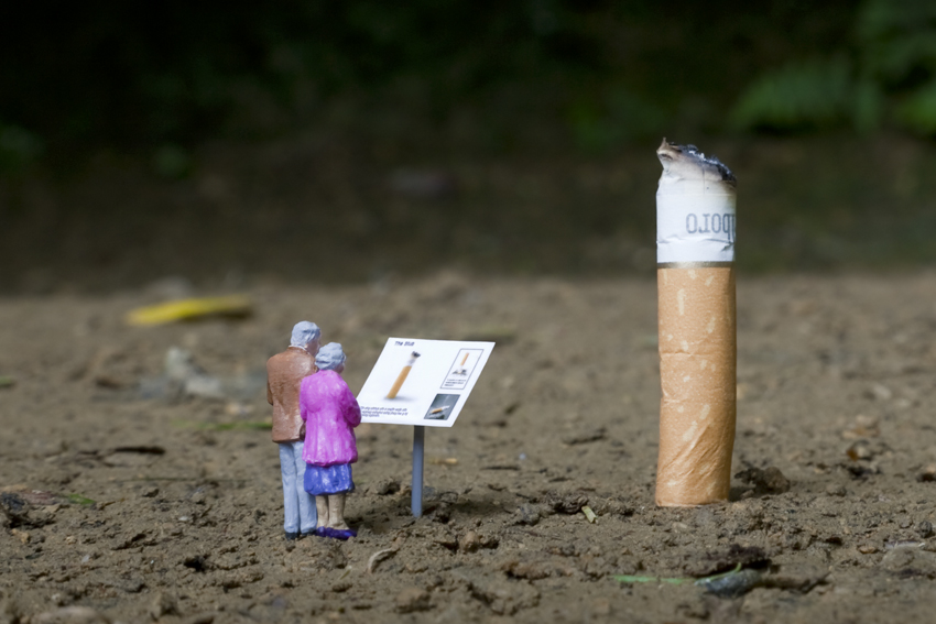 Miniature Scenes by Slinkachu | Best Bookmarks