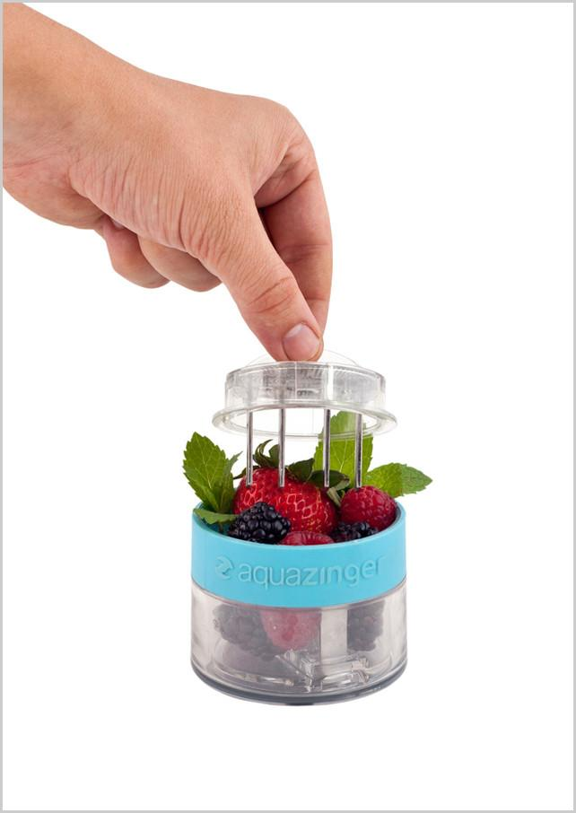 3 | Bottle Infuses Your Water (Or Vodka) With Fresh Fruit | Co.Design: business + innovation + design