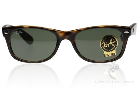 Ray-Ban RB2132 New Wayfarer Sunglasses, Ray Ban Sunglasses - Contactsandspecs.com