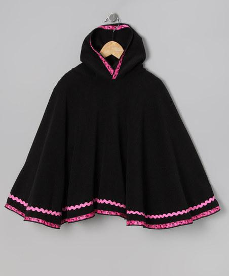 Black Punk Princess Poncho - Toddler & Girls | Daily deals for moms, babies and kids