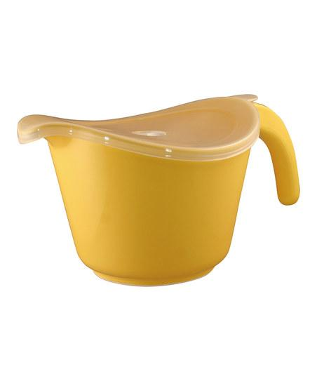 Reston Lloyd Yellow 2-Qt. Batter Bowl & Lid | Daily deals for moms, babies and kids