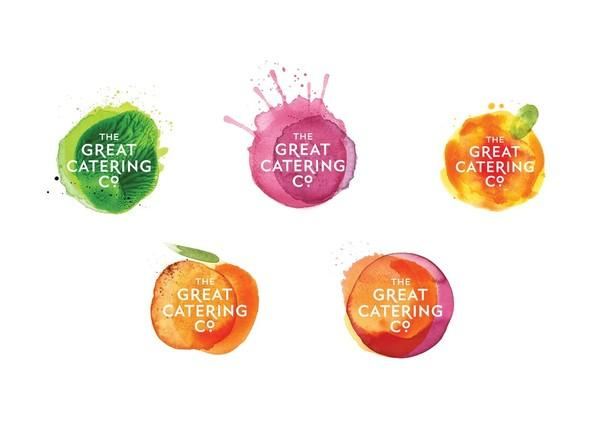 Branding / The Great Catering Company by Strategy Design and Advertising — Designspiration