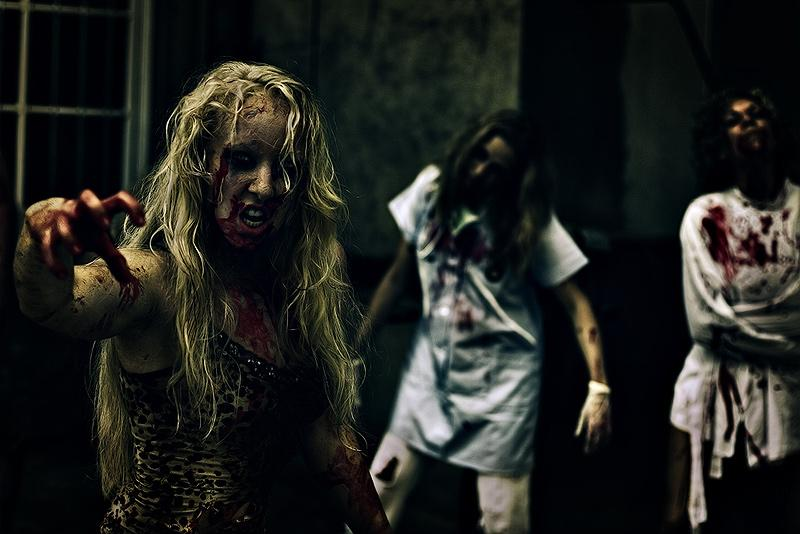 20 Zombie Photos that are Just Scary | Design Inspiration. Free Resources & Tutorials
