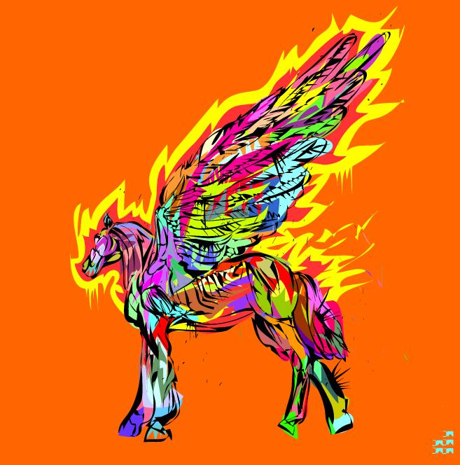 30+ Vibrant and Flashy Illustrations By TechnoDrome1 | inspirationfeed.com