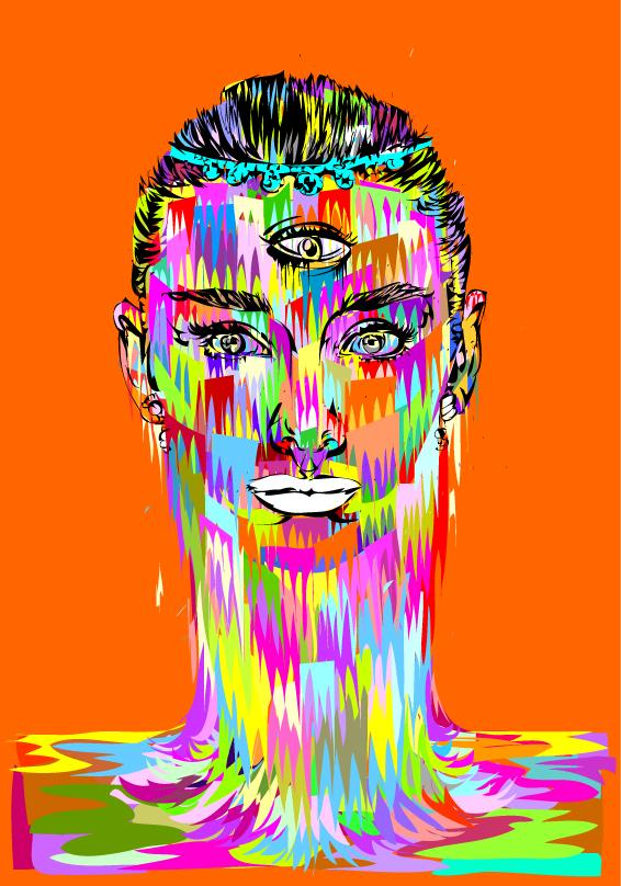 30+ Vibrant and Flashy Illustrations By TechnoDrome1 | inspirationfeed.com