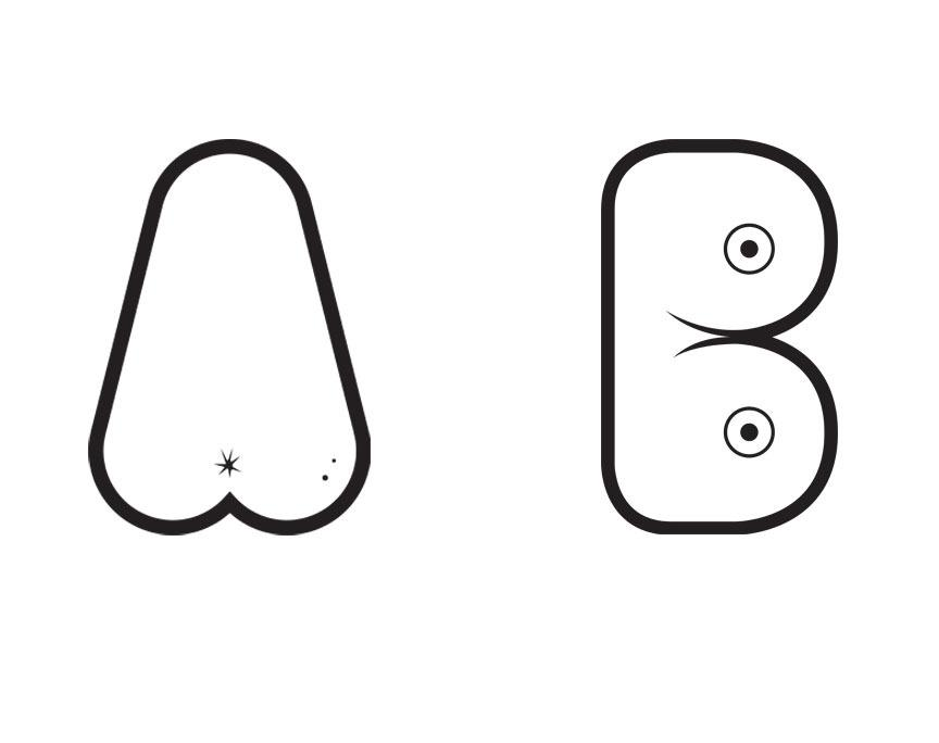 Effing Typeface - Alex Merto