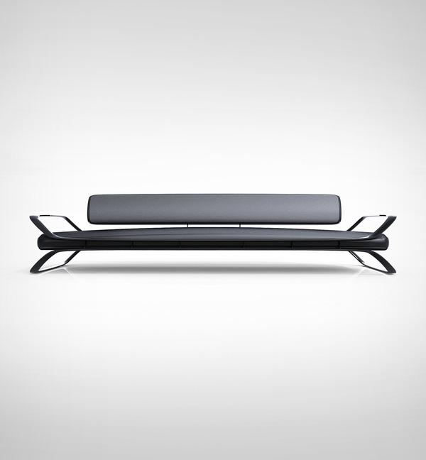 Airport Sofa by charlie nghiem at Coroflot.com