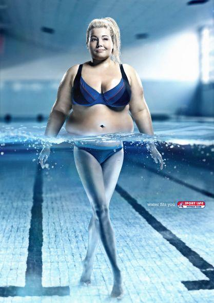 Sportlife: Water fits you, Lady | Ads of the World™