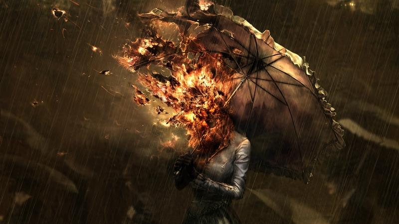 Fire,women women fire artwork umbrellas 1920x1080 wallpaper – Fire,women women fire artwork umbrellas 1920x1080 wallpaper – Umbrella Wallpaper – Desktop Wallpaper