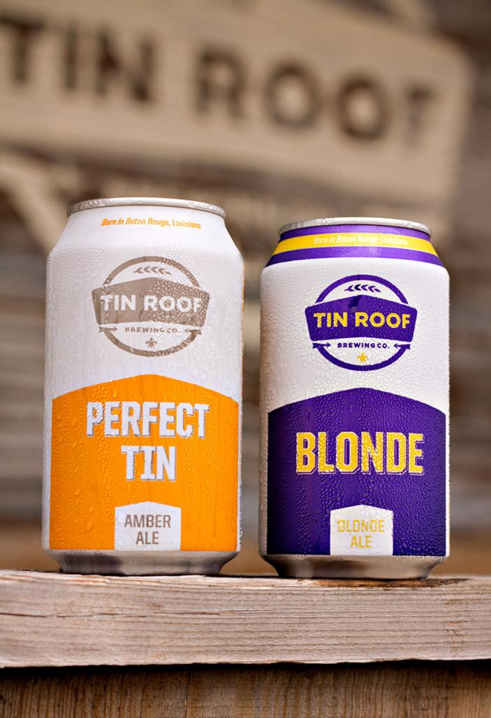 Tin Roof Brewing Co. - The Dieline -