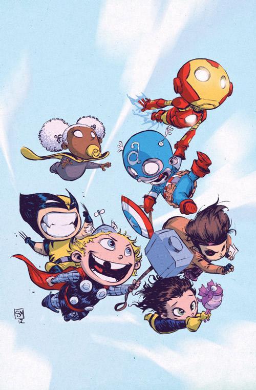 Marvel Babies - What an ART